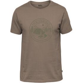 Fjällräven Lägerplats T-shirt Herrer, brun
